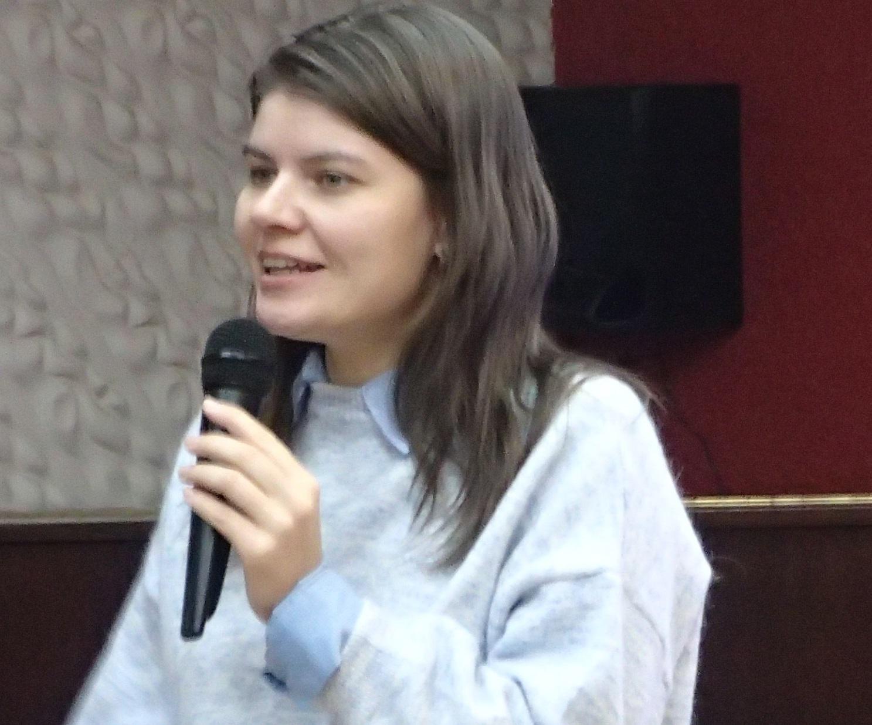 Пресс-секретарь Молодежного центра Союза кинематографистов России Наталия Егорова