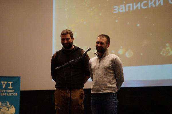 Андрей Тимощенко и Станислав Ставинов
